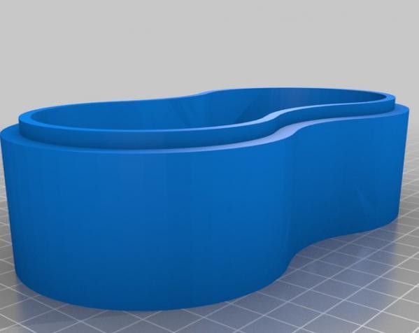 迷你小盒模型 3D模型  图1