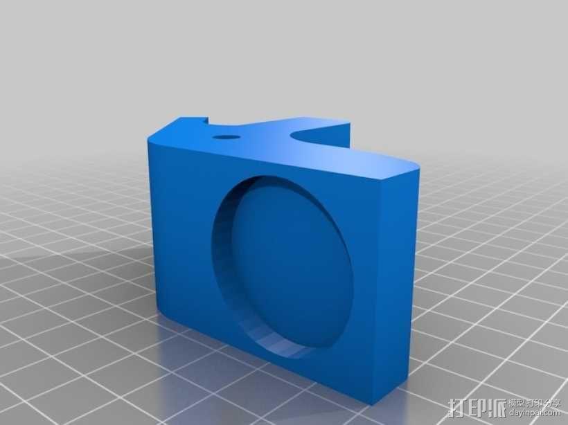 迷你胡桃夹子模型 3D模型  图1