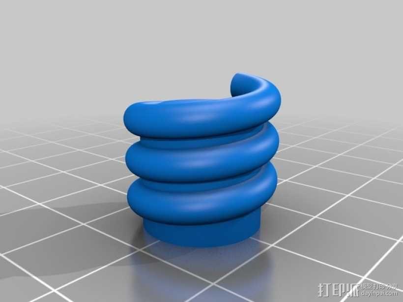 小猪形盐瓶/胡椒瓶 3D模型  图2