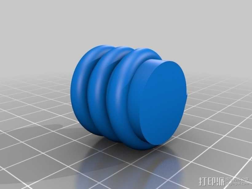 小猪形盐瓶/胡椒瓶 3D模型  图6