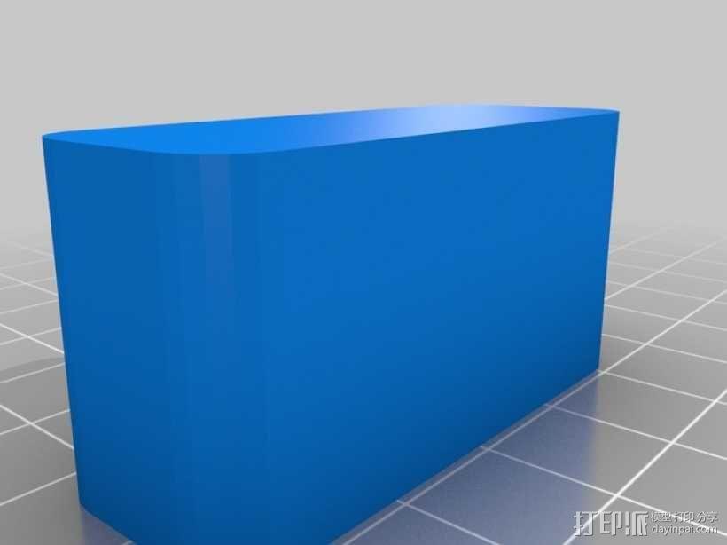 办公用品:印章 3D模型  图3