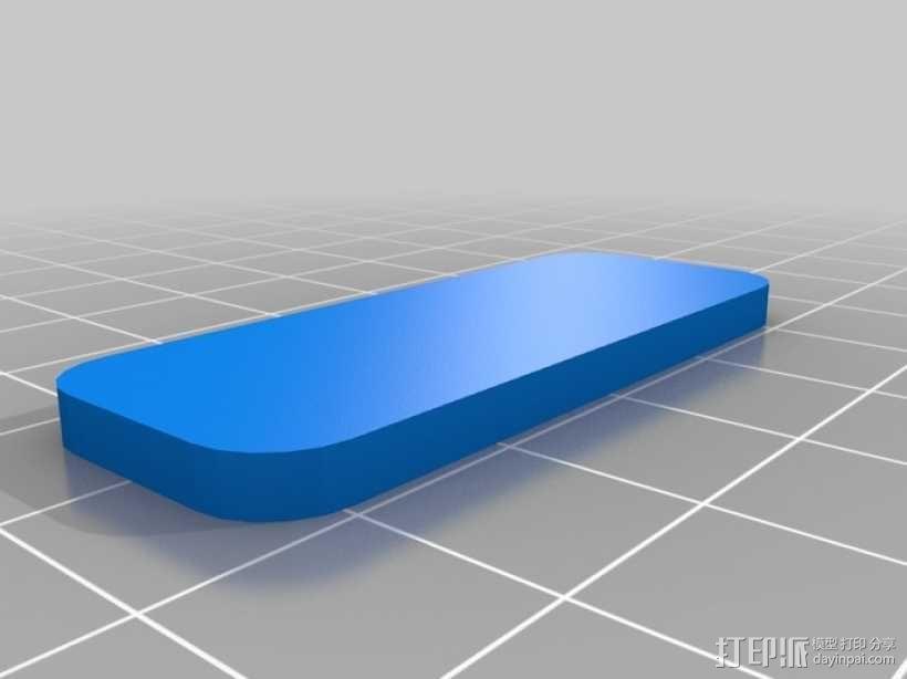 办公用品:印章 3D模型  图6