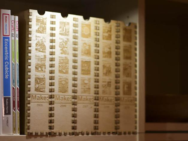 迷你Make杂志盒模型 3D模型  图2