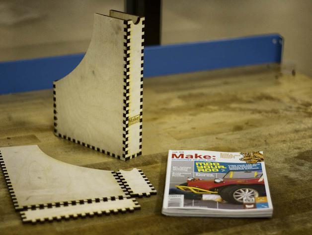 迷你Make杂志盒模型 3D模型  图1