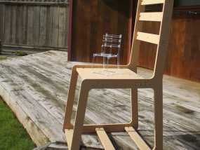 简易椅子模型 3D模型