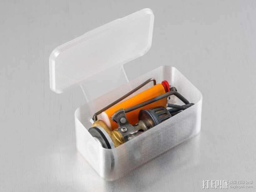 长方形可定制化盒子 3D模型  图2