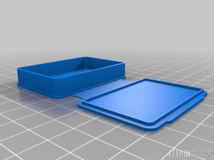 长方形可定制化盒子 3D模型  图7