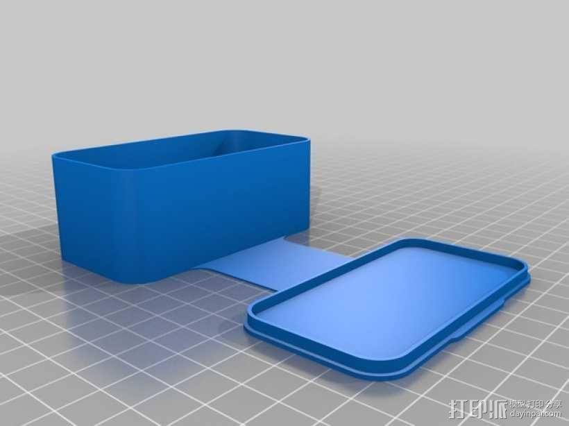 长方形可定制化盒子 3D模型  图6