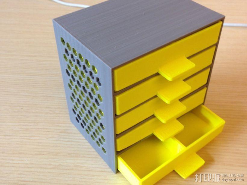 定制化抽屉模型 3D模型  图1