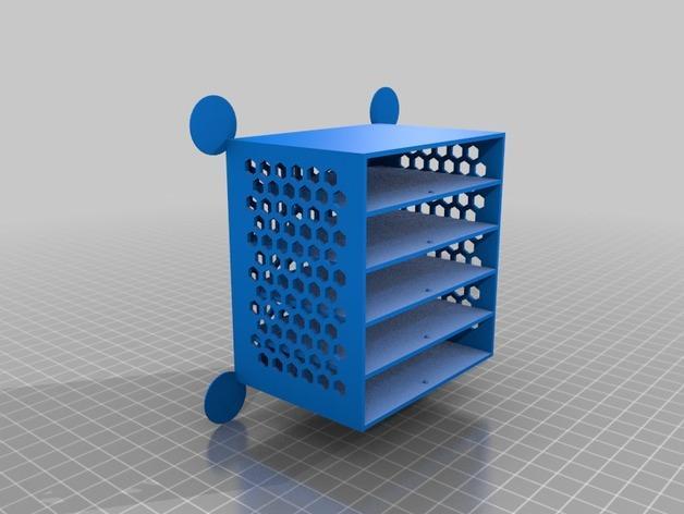 定制化抽屉模型 3D模型  图4
