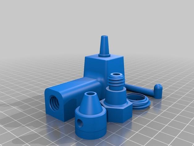 西瓜水龙头模型 3D模型  图3