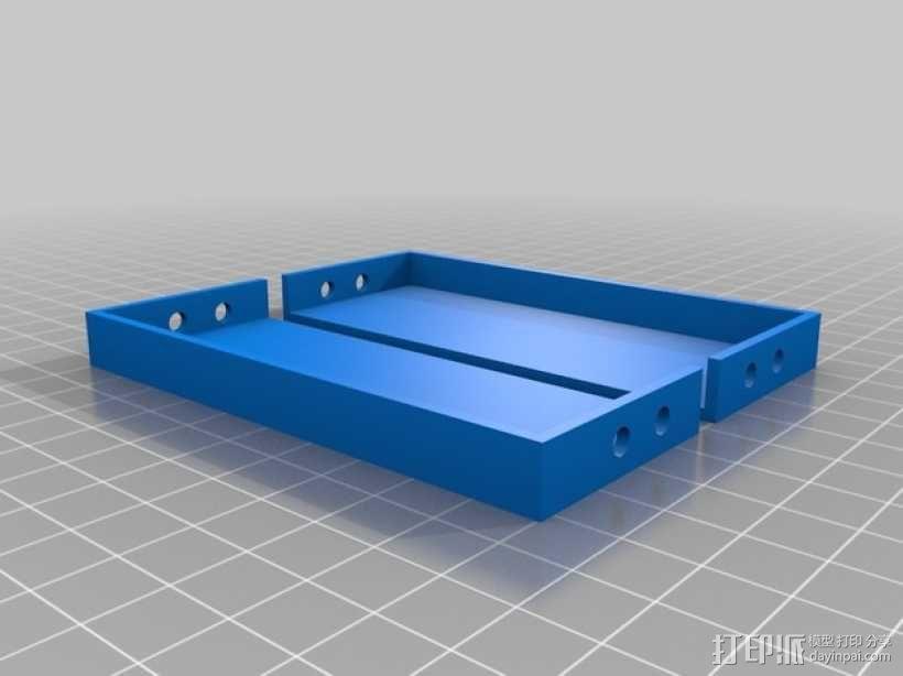 可折叠工具箱模型 3D模型  图2