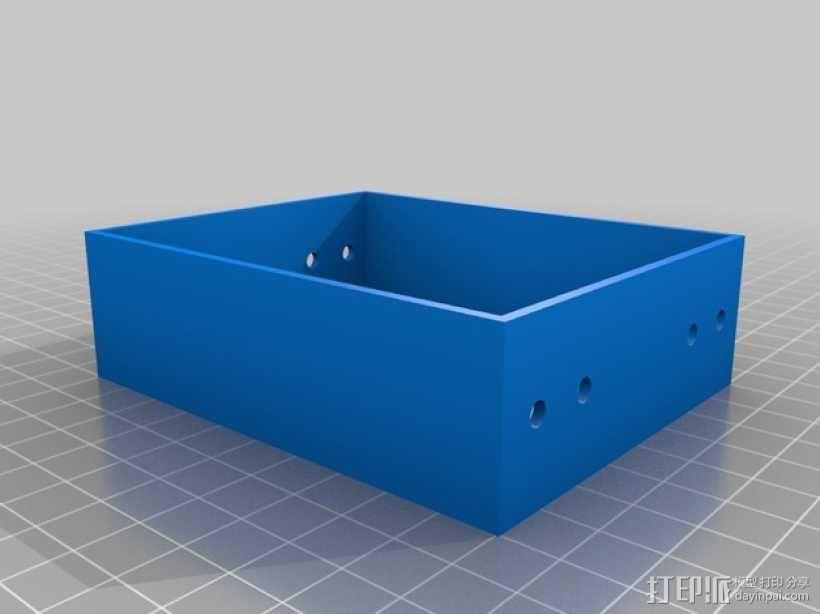 可折叠工具箱模型 3D模型  图4