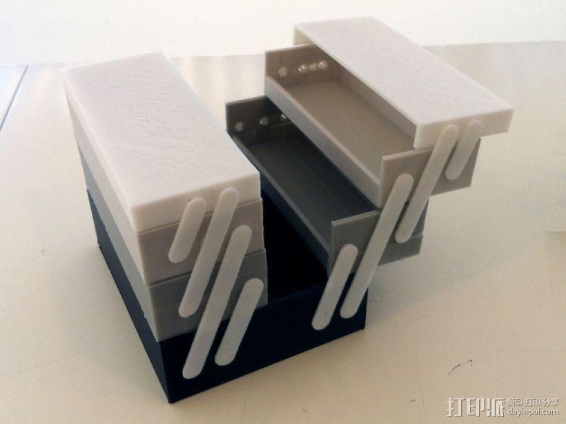 可折叠工具箱模型 3D模型  图8