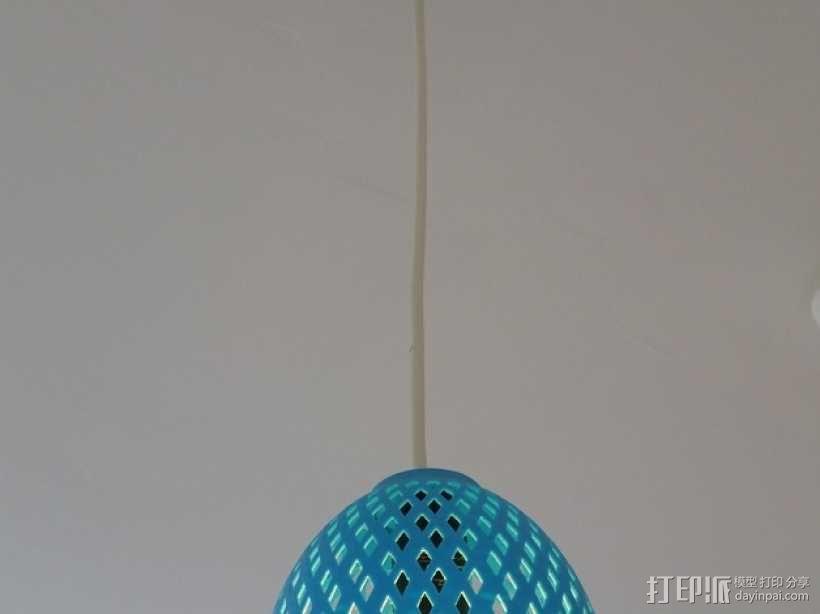 经典圆形灯罩模型 3D模型  图2
