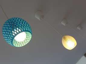 经典圆形灯罩模型 3D模型