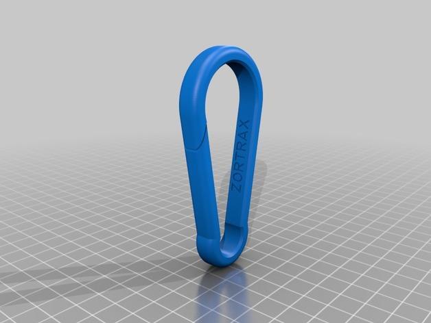 竖钩夹模型 3D模型  图7