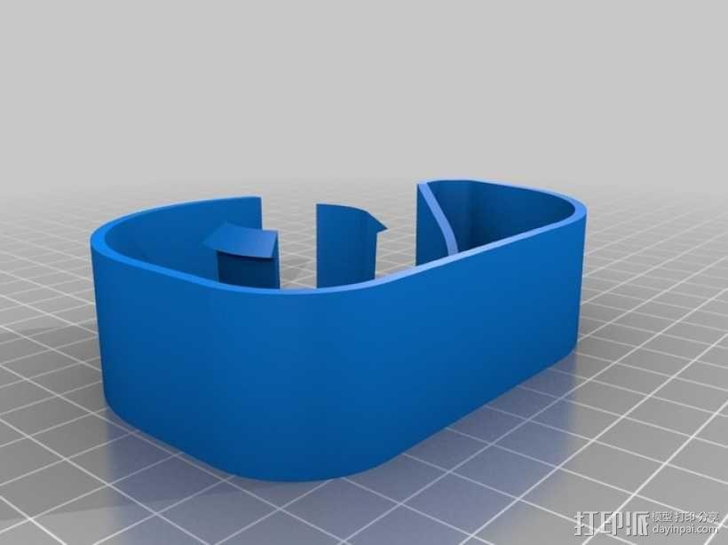 胶带分割器模型 3D模型  图3