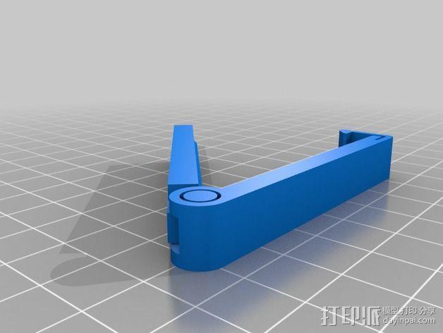 袋装物品夹模型 3D模型  图2