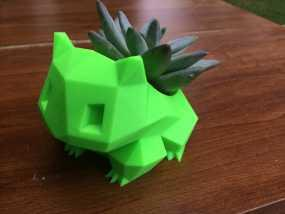 妙蛙种子花盆模型 3D模型