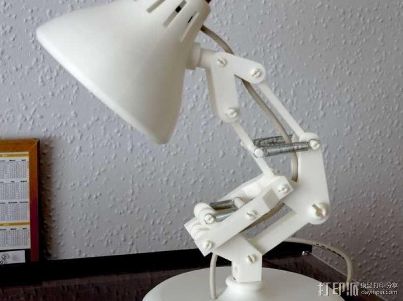 迷你小台灯模型 3D模型  图3