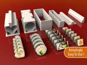 寿司模型套件 3D模型