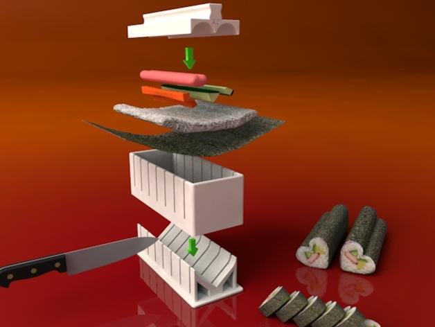 寿司模型套件 3D模型  图2