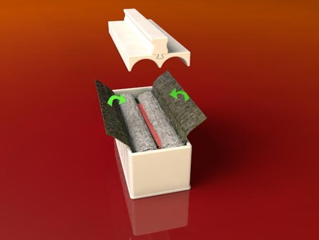 寿司模型套件 3D模型  图3