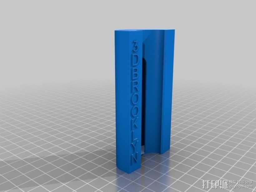 香烟火机套件模型 3D模型  图3