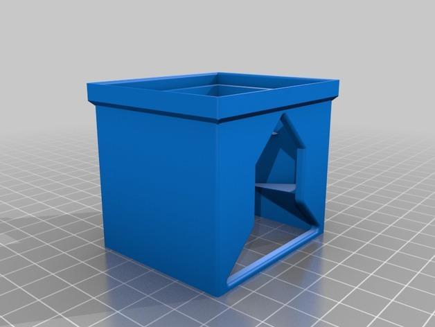 可伸展的电池盒模型 3D模型  图3