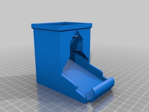 可伸展的电池盒模型 3D模型  图2