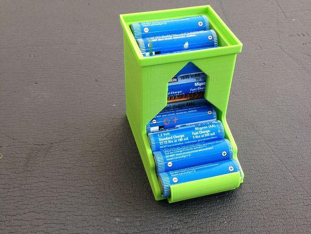 可伸展的电池盒模型 3D模型  图9