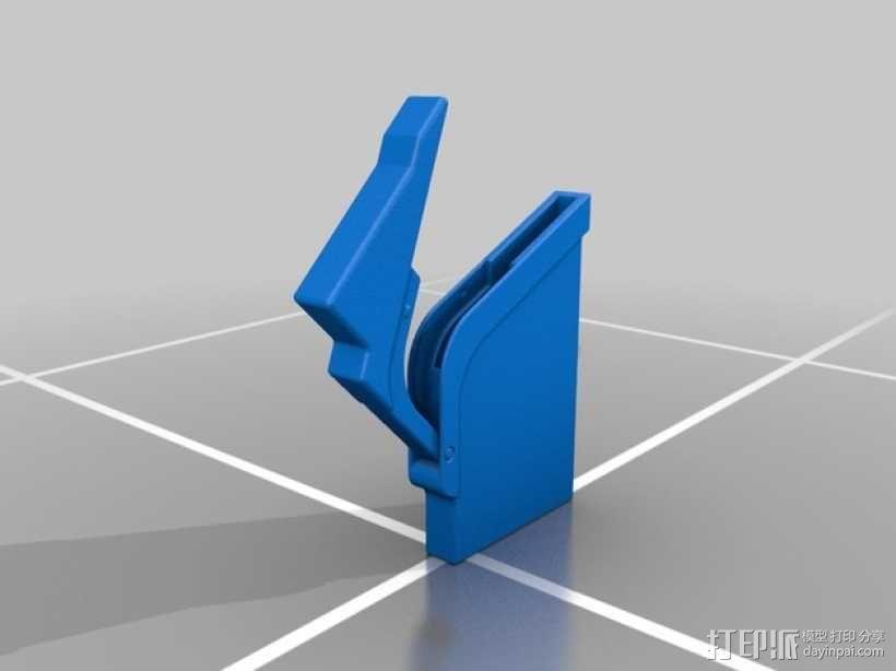时尚名片盒模型 3D模型  图2