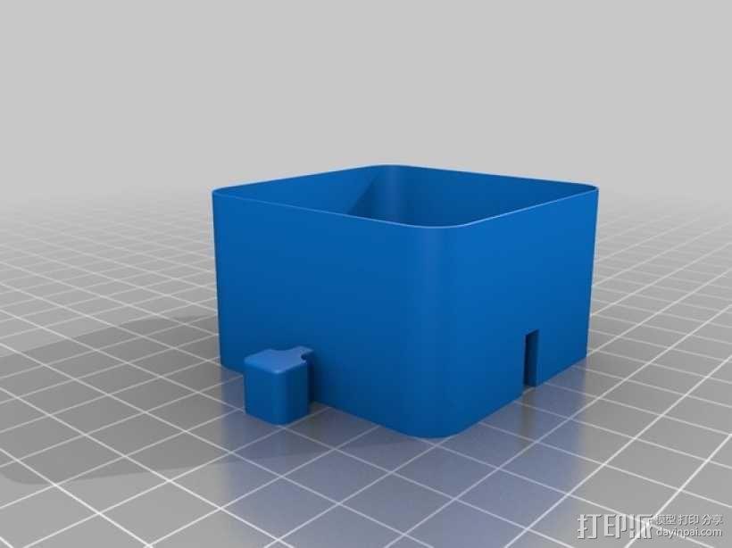 迷你联锁盒子模型 3D模型  图3