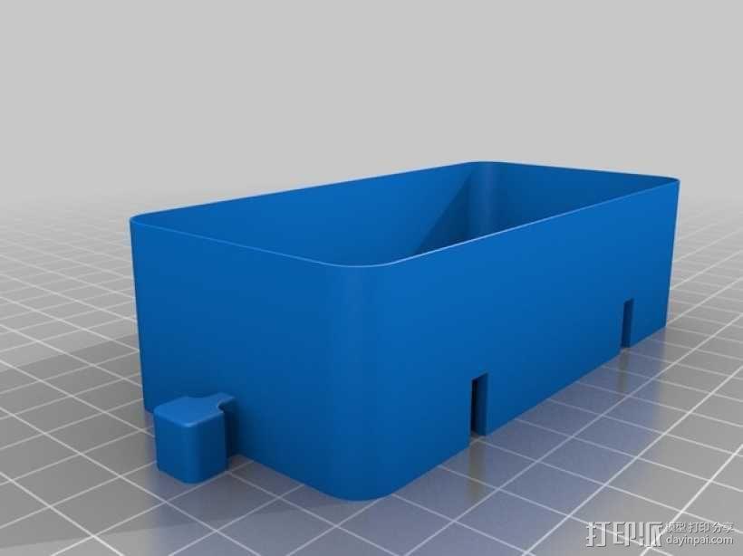 迷你联锁盒子模型 3D模型  图4