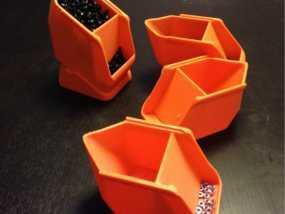 螺丝/螺母盒模型 3D模型