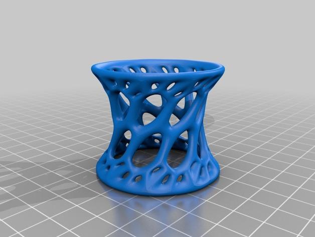迷你镂空蛋托模型 3D模型  图2