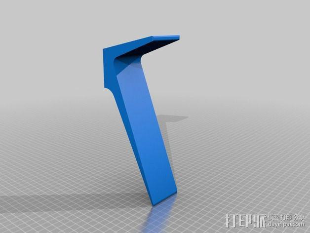 笔记本电脑托盘模型 3D模型  图2