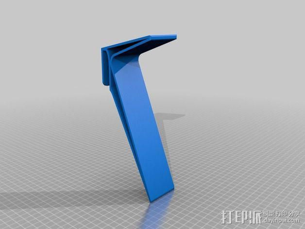 笔记本电脑托盘模型 3D模型  图3
