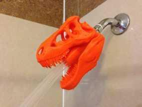 恐龙形淋浴喷头模型 3D模型