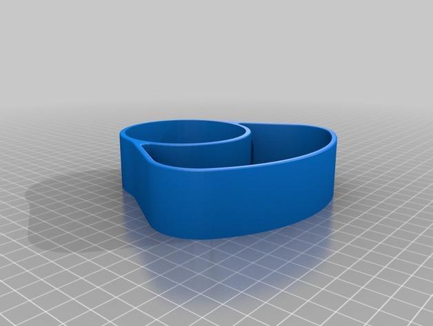 办公用品收纳盒模型 3D模型  图3