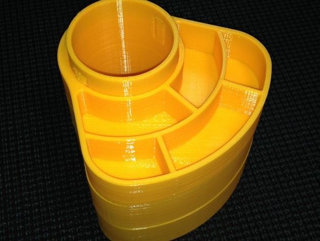 办公用品收纳盒模型 3D模型  图7