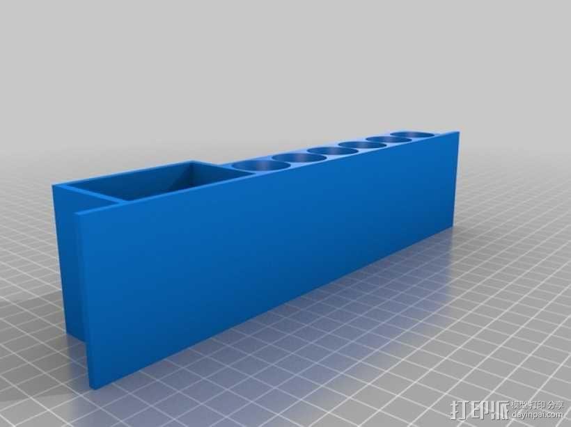 参数化白板笔固定架模型 3D模型  图3