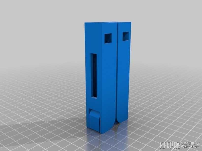 可折叠的衣架模型 3D模型  图2