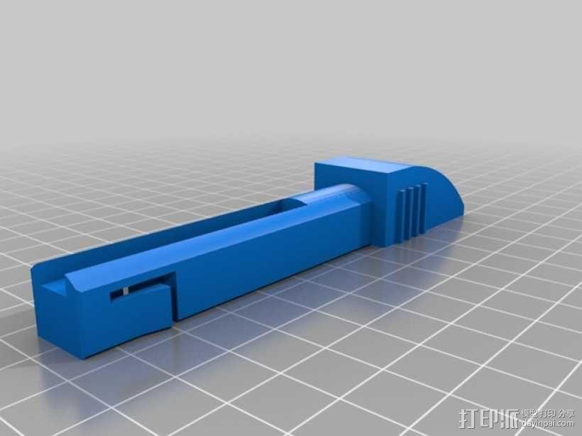 可折叠的衣架模型 3D模型  图3