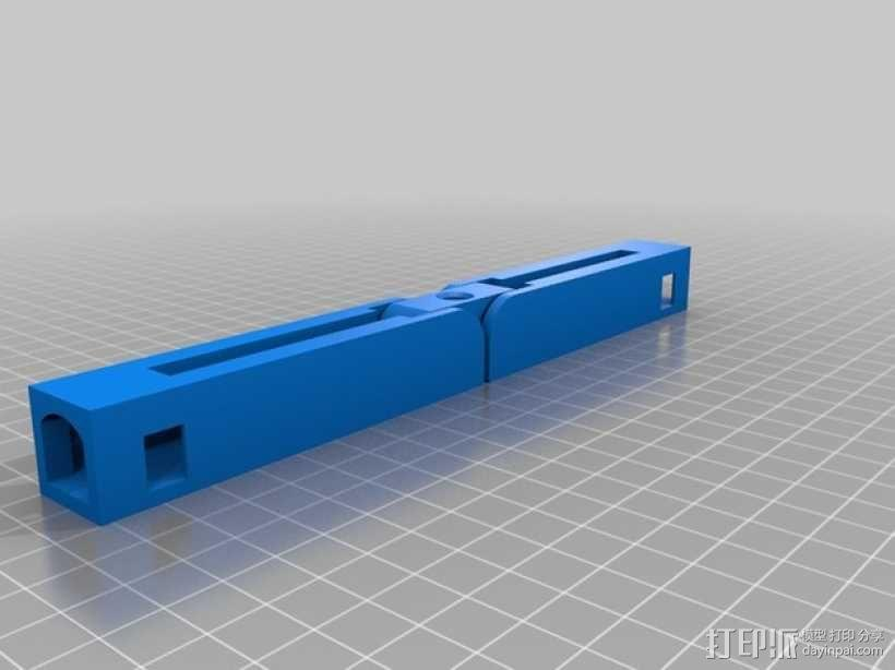 可折叠的衣架模型 3D模型  图5