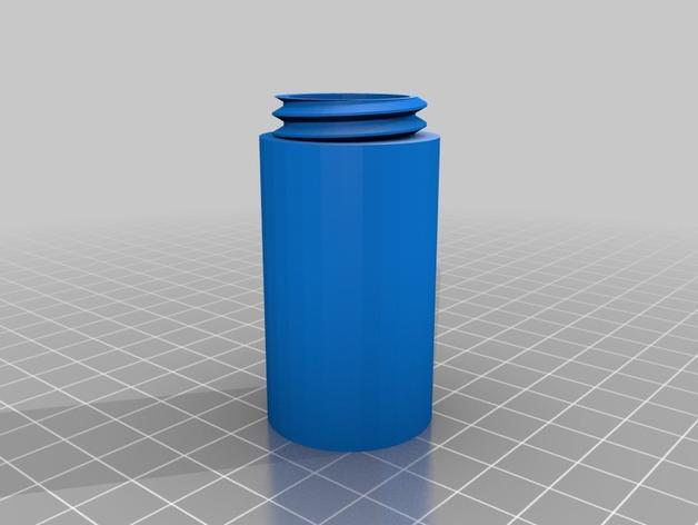 螺旋形收纳盒模型 3D模型  图3