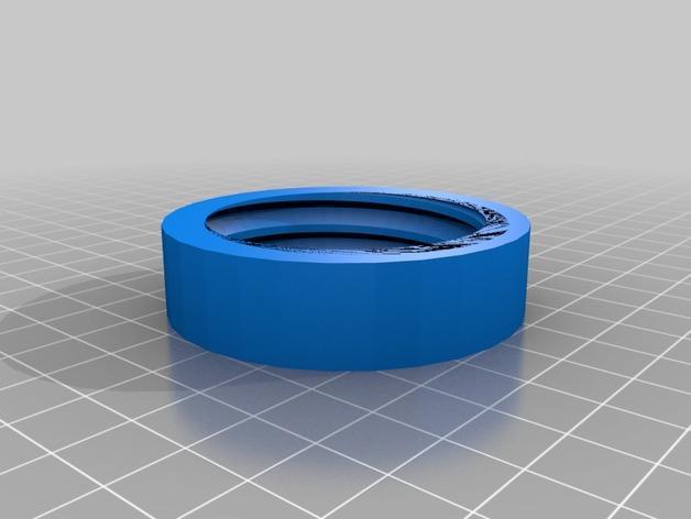 螺旋形收纳盒模型 3D模型  图4