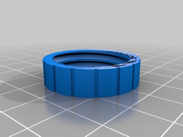 螺旋形收纳盒模型 3D模型  图6