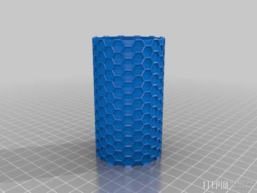 纳米管形容器模型 3D模型  图3